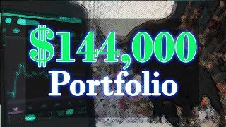 $144,000 HIGH DIVIDEND YIELD Stock Portfolio!   Stock Market Investing!