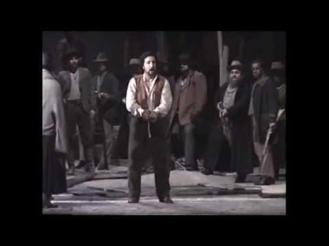 La Fanciulla del West: Ch'ella mi creda scena/ Manrico Tedeschi