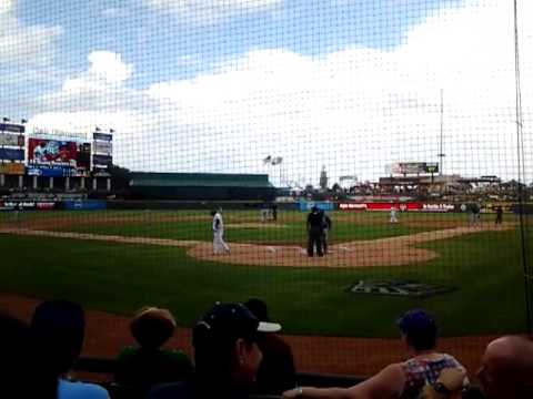 manny ramirez 1st at bat vs iowa cubs saturday