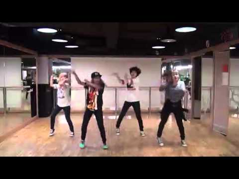 TINY-G - minimanimo - mirrored dance practice video 타이니지