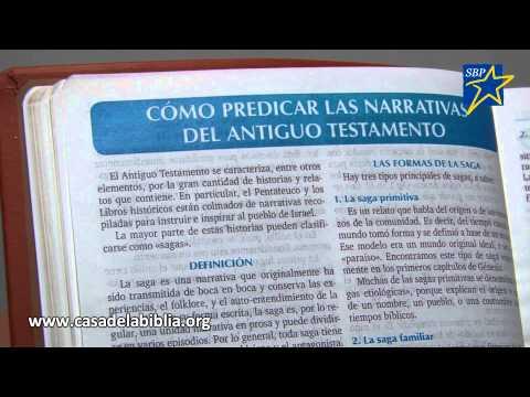 La Casa de la Biblia presenta la Biblia para la Predicación