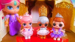 LOL Surprise Dolls + Lil Sisters Ballet Dance