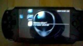 PSP UMD Movie (Italian Job) & Burnout Demo