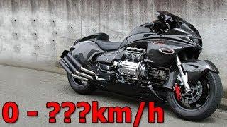 Honda NRX1800 Valkyrie Rune - Walkaround & Acceleration & Startup & Exhaust Sound & Burnout & Speed