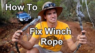 Snapped My 4x4 Winch Rope