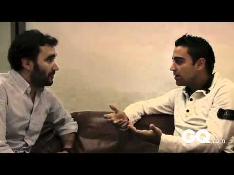 Xavi Hernández (24 minutos) - Entrevista entera en GQ 2010 por Juanma Castaño. Barça