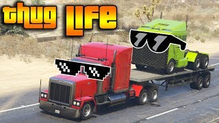GTA 5 ONLINE : THUG LIFE AND FUNNY MOMENTS (WINS, STUNTS AND FAILS #21)