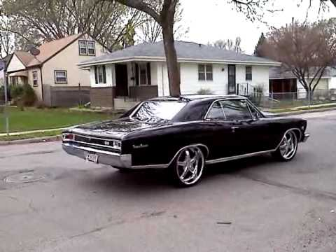 1966 Chevelle Big Block Chevy 572 22 Inc Wheels Youtube