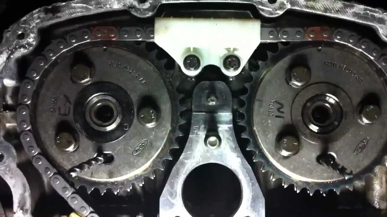 ford transit 2 4 timing chain marks
