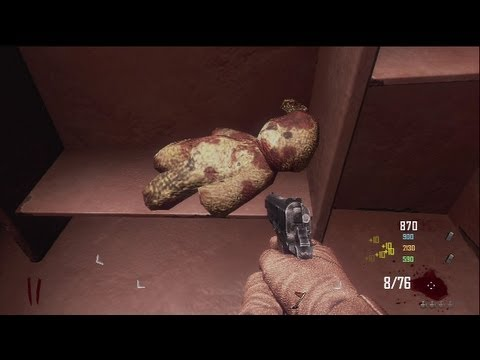 Black Ops 2 Zombies l Die Rise Easter Egg Song - ALL the Teddy Locations