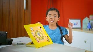 DIY Challenge from Niana Guerrero - Make Mickey Mouse clock from Disney character