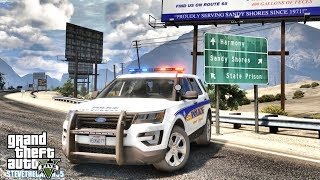 GTA 5 MODS LSPDFR 0.4.1 - FORD EXPLORER PATROL!!! (GTA 5 REAL LIFE PC MOD) GRAPESEED