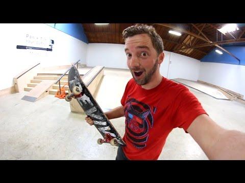 I Found A Famous Skatepark!