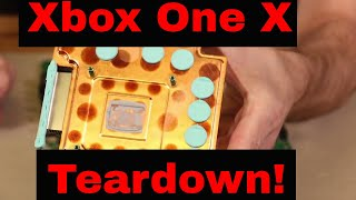 Xbox One X Teardown - What's Inside???