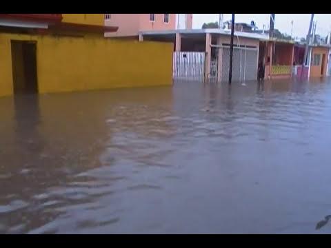 inundacion por causas del huracan arlene tampico