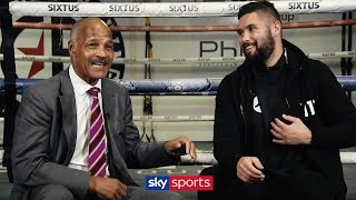 Tony Bellew on his struggles, being knocked down & Usyk tactics | Meeting John Conteh