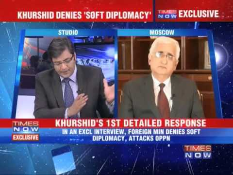 The Newshour Direct: Salman Khurshid (Full Interview)