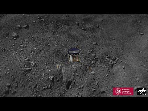 Reconstructing Philae's flight