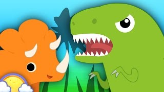 Dinosaur Games + More! | Dinosaur Cartoons for Children | CheeriToons