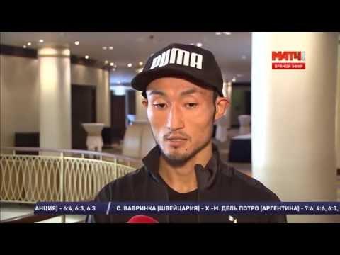 Взвешивание Трояновский-Обара   Troyanovsky vs Obara WEIGH IN