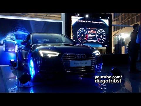#56 Conheça O Novo Audi A4 2017 (Ft. Gustavo SJC) | Lançamento