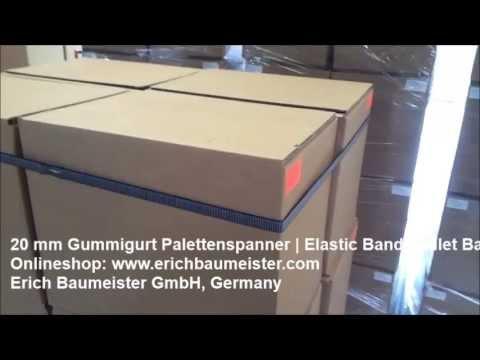 20 mm Palettengurtbänder | Elastic Pallet Bands