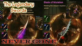 "How to Get the Legendary Swords ""Never Gone apk"""