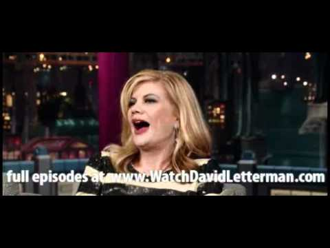 Kristen Johnston in Late Show with David Letterman December 5, 2011