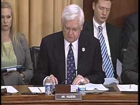 Rogers Questions Secretary of Treasury Jack Lew