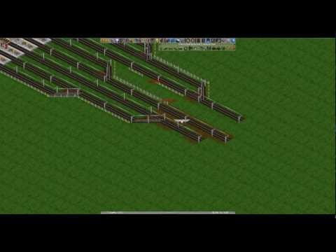 Openttd train station and signals voice tutorial