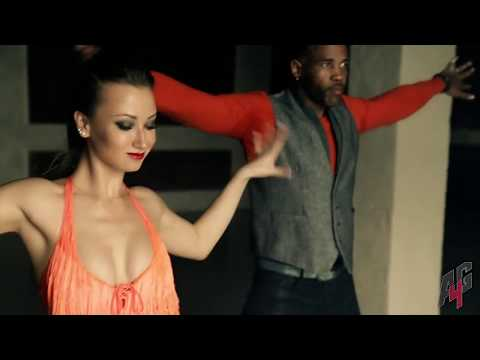 Beautiful salsa dance! Celia Cruz  - Quimbara | A4G Moscow