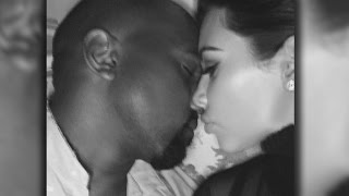 Kim Kardashian West Gives Kanye West Love In New Bed Selfie