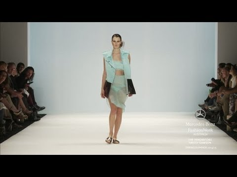 HAYLEY DAWSON: MERCEDES-BENZ FASHION WEEK AUSTRALIA SS 2014/2015