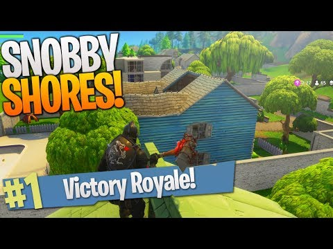 SNOBBY SHORES VICTORY ROYALE Duos w/ Ali-A! - Fortnite NEW MAP UPDATE!