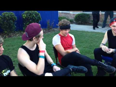 5sos Interview by Fans - Charlotte, NC