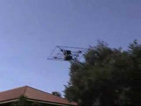 STARMAC Quadrotor Helicopter UAV Project