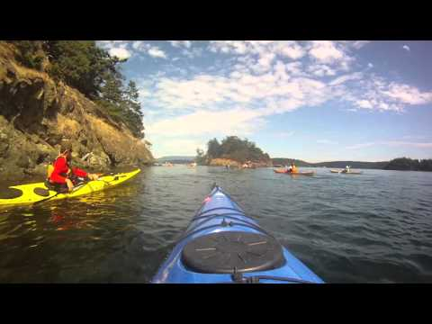 Kayaking in the San Juan Islands, August 2013