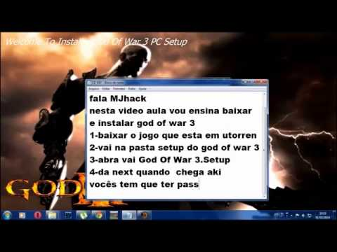 Como Baixar e instalar God Of War 3 PC!!