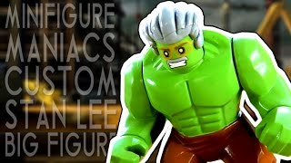 LEGO Custom Big Figure [Inspired by Marvel Stan Lee Hulk]