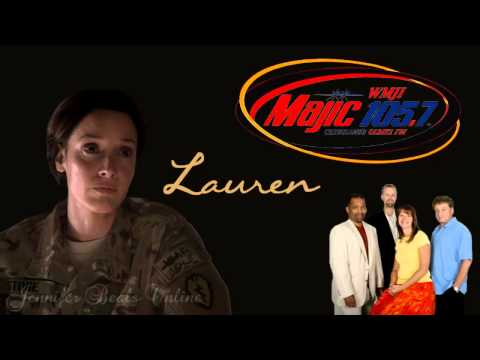 Jennifer Beals - Interview: Lanigan & Malone (Majic 105.7fm) (8-15-2012)