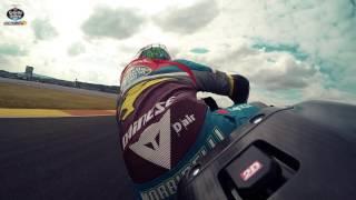 A fast lap of Valencia with Franco Morbidelli