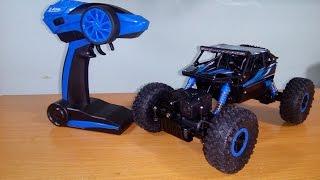 [Unboxing] & TEST HB - P1803B 1/18 4WD Rock Crawler RC Car by Banggood