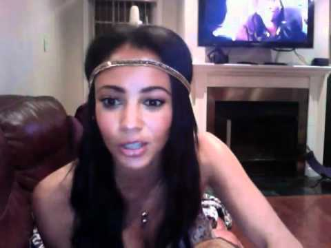 Vanessa Morgan Saying Hey