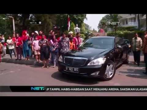 Presiden Joko Widodo gunakan mobil yang digunakan SBY saat jadi Presiden - NET24