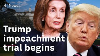 Trump impeachment trial begins