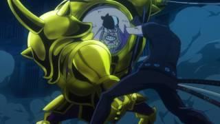 Zoro vs Dice - Full Fight HD   One Piece Film Gold