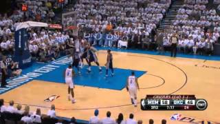 NBA Playoffs 2013: Memphis Grizzlies Vs Oklahoma City Thunder Highlights May 15, 2013 Game 5