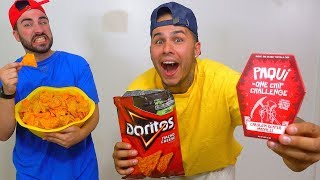 "World's HOTTEST Chip PRANK!!! (Carolina Reaper Chip Inside DORITO'S Bag) ""One Chip Challenge"""
