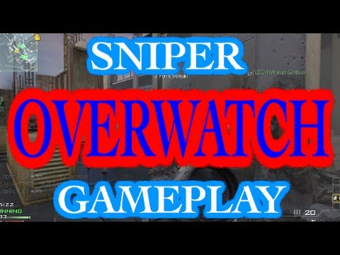 SNIPER GAMEPLAY -  Overwatch