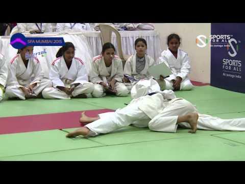 SFA Mumbai 2015 |Judo |Nafisa Juzar Kanpurwala Vs Khushi Sharma |Girls |U-12 | |-37Kg |SF |